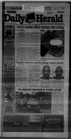 Primary view of Sapulpa Daily Herald (Sapulpa, Okla.), Vol. 98, No. 162, Ed. 1 Sunday, May 5, 2013