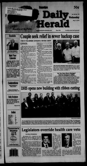 Primary view of object titled 'Sapulpa Daily Herald (Sapulpa, Okla.), Vol. 95, No. 175, Ed. 1 Wednesday, May 19, 2010'.