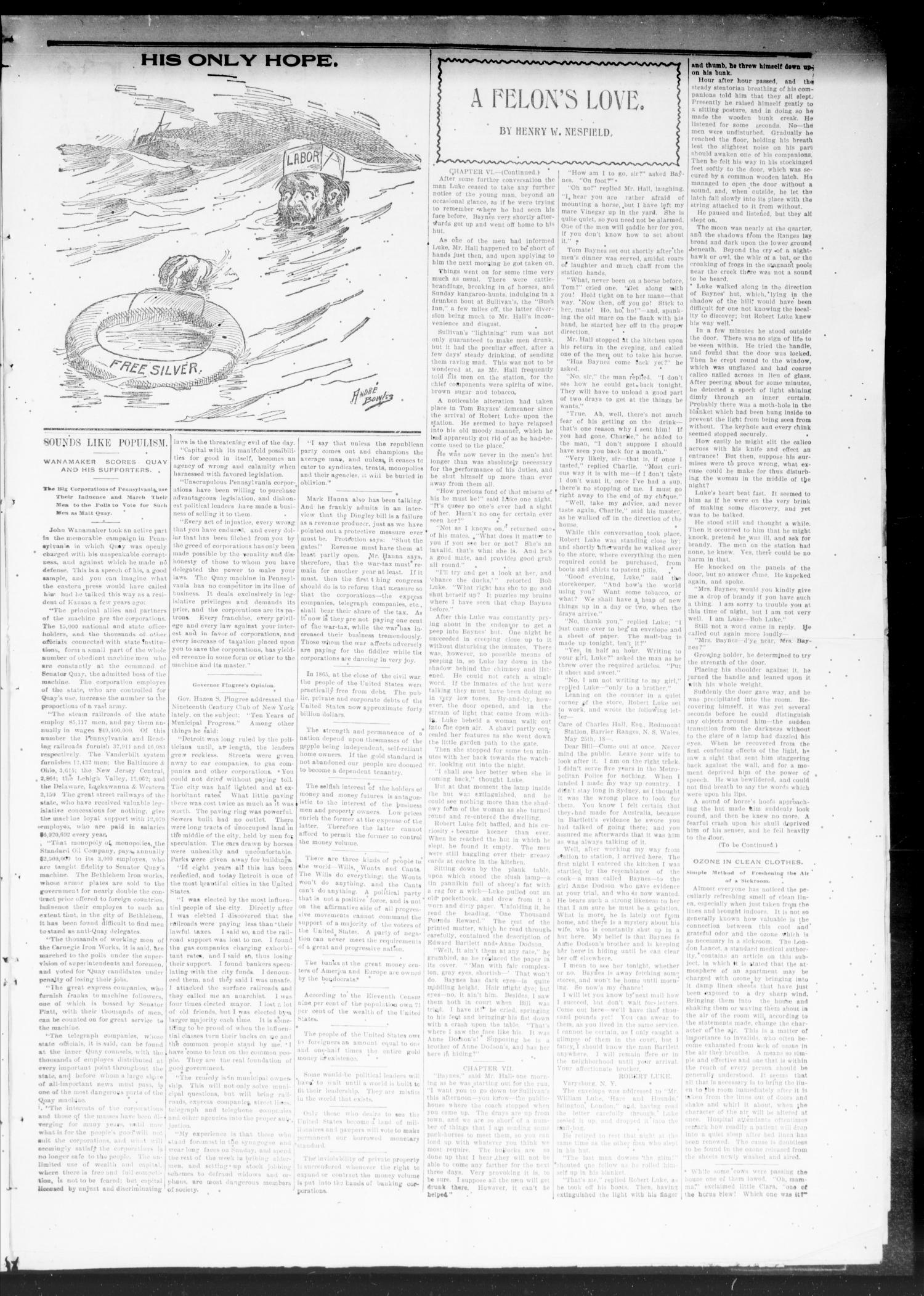 The Publicist. (Chandler, Okla. Terr.), Vol. 5, No. 32, Ed. 1 Friday, December 9, 1898                                                                                                      [Sequence #]: 3 of 8