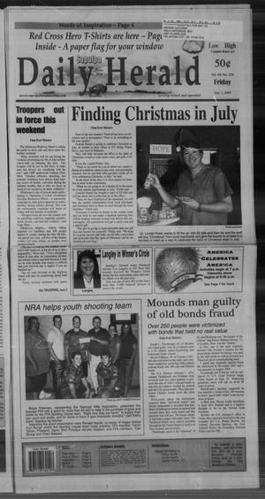 Primary view of Sapulpa Daily Herald (Sapulpa, Okla.), Vol. 94, No. 236, Ed. 1 Friday, July 3, 2009
