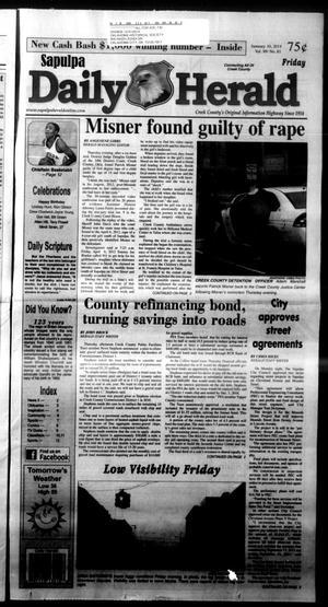 Primary view of Sapulpa Daily Herald (Sapulpa, Okla.), Vol. 99, No. 81, Ed. 1 Friday, January 10, 2014