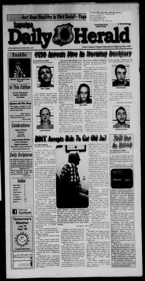 Primary view of Sapulpa Daily Herald (Sapulpa, Okla.), Vol. 96, No. 225, Ed. 1 Tuesday, August 2, 2011
