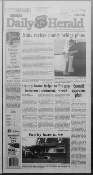 Primary view of Sapulpa Daily Herald (Sapulpa, Okla.), Vol. 99, No. 162, Ed. 1 Wednesday, May 7, 2014
