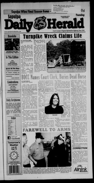 Primary view of Sapulpa Daily Herald (Sapulpa, Okla.), Vol. 96, No. 161, Ed. 1 Tuesday, May 3, 2011