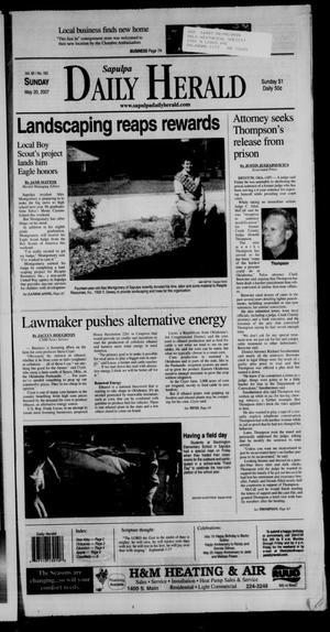 Primary view of Sapulpa Daily Herald (Sapulpa, Okla.), Vol. 92, No. 163, Ed. 1 Sunday, May 20, 2007