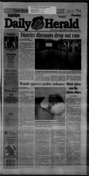 Primary view of Sapulpa Daily Herald (Sapulpa, Okla.), Vol. 98, No. 146, Ed. 1 Thursday, April 11, 2013