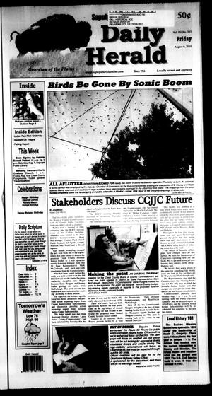 Primary view of Sapulpa Daily Herald (Sapulpa, Okla.), Vol. 95, No. 232, Ed. 1 Friday, August 6, 2010