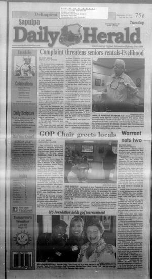 Primary view of Sapulpa Daily Herald (Sapulpa, Okla.), Vol. 98, No. 248, Ed. 1 Tuesday, September 10, 2013