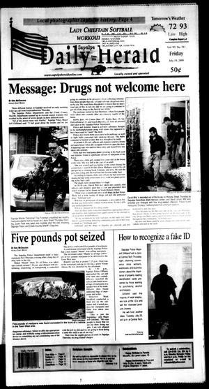 Primary view of Sapulpa Daily Herald (Sapulpa, Okla.), Vol. 93, No. 211, Ed. 1 Friday, July 18, 2008