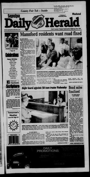 Primary view of Sapulpa Daily Herald (Sapulpa, Okla.), Vol. 100, No. 241, Ed. 1 Sunday, August 23, 2015