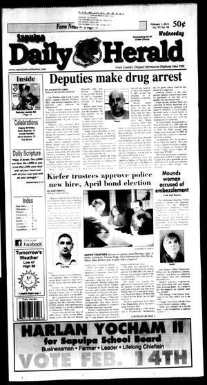 Primary view of Sapulpa Daily Herald (Sapulpa, Okla.), Vol. 97, No. 99, Ed. 1 Wednesday, February 1, 2012