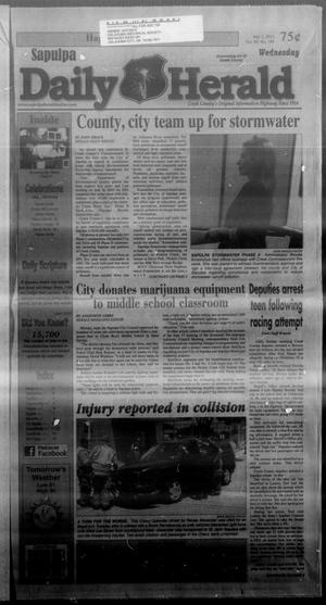Primary view of Sapulpa Daily Herald (Sapulpa, Okla.), Vol. 98, No. 199, Ed. 1 Wednesday, July 3, 2013