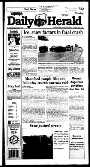 Primary view of Sapulpa Daily Herald (Sapulpa, Okla.), Vol. 99, No. 61, Ed. 1 Tuesday, December 10, 2013