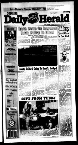 Primary view of Sapulpa Daily Herald (Sapulpa, Okla.), Vol. 96, No. 128, Ed. 1 Tuesday, March 15, 2011