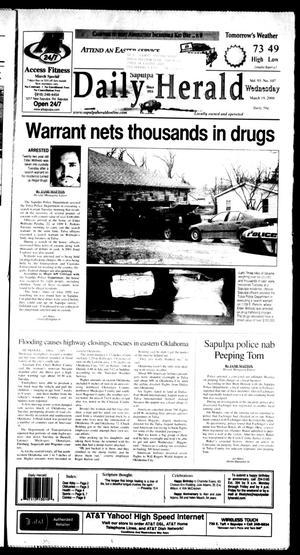 Primary view of Sapulpa Daily Herald (Sapulpa, Okla.), Vol. 93, No. 109, Ed. 1 Wednesday, March 19, 2008