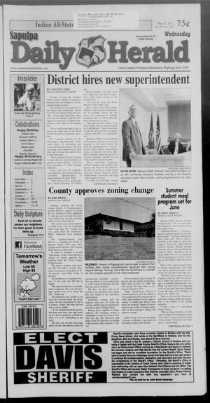 Primary view of Sapulpa Daily Herald (Sapulpa, Okla.), Vol. 97, No. 178, Ed. 1 Wednesday, May 23, 2012