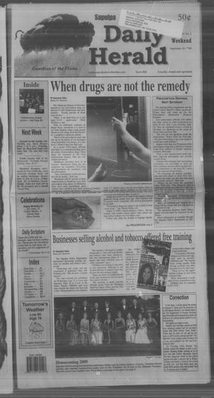 Primary view of Sapulpa Daily Herald (Sapulpa, Okla.), Vol. 94, No. 292, Ed. 1 Sunday, September 20, 2009
