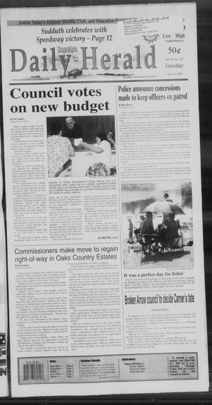 Primary view of Sapulpa Daily Herald (Sapulpa, Okla.), Vol. 94, No. 222, Ed. 1 Tuesday, June 16, 2009