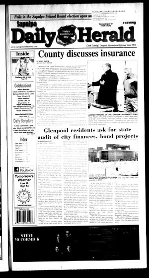 Primary view of Sapulpa Daily Herald (Sapulpa, Okla.), Vol. 97, No. 108, Ed. 1 Tuesday, February 14, 2012