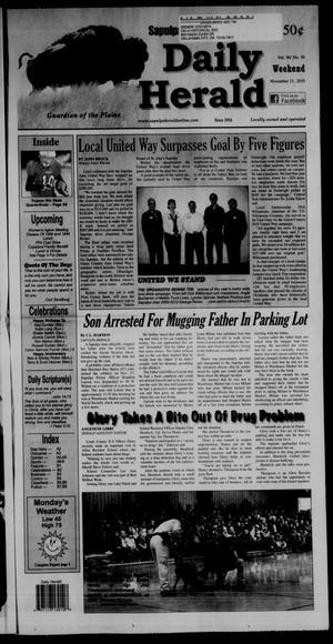 Primary view of Sapulpa Daily Herald (Sapulpa, Okla.), Vol. 96, No. 50, Ed. 1 Sunday, November 21, 2010