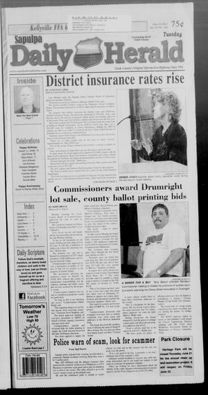 Primary view of Sapulpa Daily Herald (Sapulpa, Okla.), Vol. 97, No. 196, Ed. 1 Tuesday, June 19, 2012
