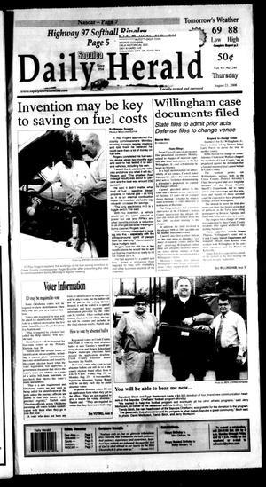 Primary view of Sapulpa Daily Herald (Sapulpa, Okla.), Vol. 93, No. 240, Ed. 1 Thursday, August 21, 2008