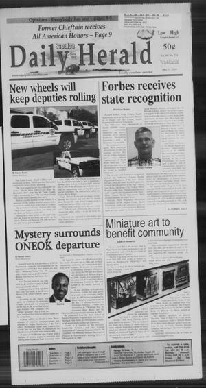 Primary view of Sapulpa Daily Herald (Sapulpa, Okla.), Vol. 94, No. 211, Ed. 1 Sunday, May 31, 2009