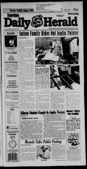 Primary view of Sapulpa Daily Herald (Sapulpa, Okla.), Vol. 96, No. 177, Ed. 1 Wednesday, May 25, 2011
