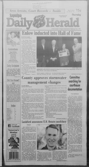 Primary view of Sapulpa Daily Herald (Sapulpa, Okla.), Vol. 99, No. 178, Ed. 1 Thursday, May 29, 2014