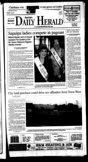 Primary view of Sapulpa Daily Herald (Sapulpa, Okla.), Vol. 92, No. 265, Ed. 1 Sunday, September 16, 2007