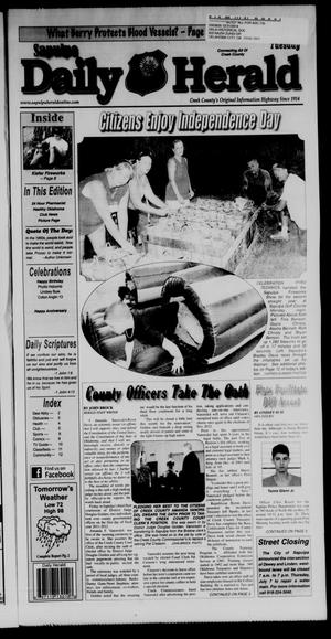 Primary view of Sapulpa Daily Herald (Sapulpa, Okla.), Vol. 96, No. 206, Ed. 1 Tuesday, July 5, 2011