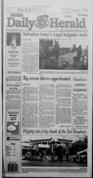 Primary view of Sapulpa Daily Herald (Sapulpa, Okla.), Vol. 100, No. 66, Ed. 1 Thursday, December 18, 2014