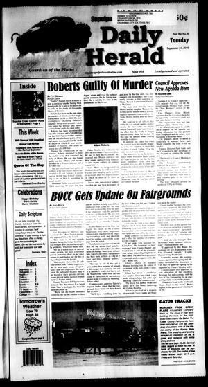Primary view of Sapulpa Daily Herald (Sapulpa, Okla.), Vol. 96, No. 6, Ed. 1 Tuesday, September 21, 2010