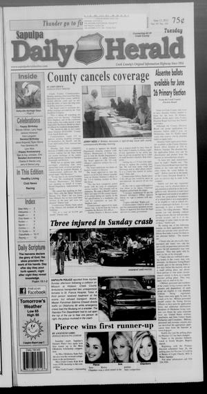 Primary view of Sapulpa Daily Herald (Sapulpa, Okla.), Vol. 97, No. 191, Ed. 1 Tuesday, June 12, 2012