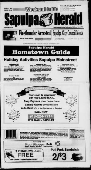 Primary view of Sapulpa Herald (Sapulpa, Okla.), Vol. 103, No. 16, Ed. 1 Sunday, October 8, 2017