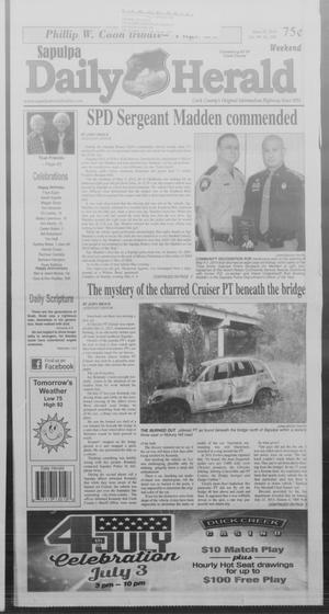 Primary view of Sapulpa Daily Herald (Sapulpa, Okla.), Vol. 99, No. 200, Ed. 1 Sunday, June 29, 2014