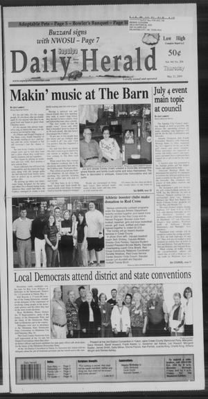 Primary view of Sapulpa Daily Herald (Sapulpa, Okla.), Vol. 94, No. 204, Ed. 1 Thursday, May 21, 2009
