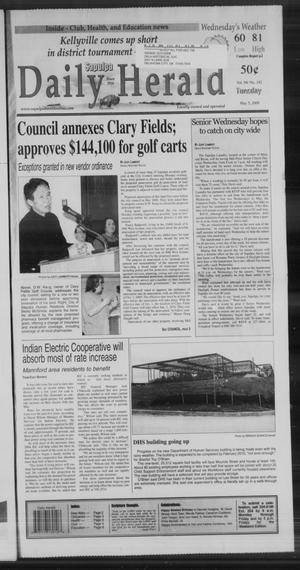 Primary view of Sapulpa Daily Herald (Sapulpa, Okla.), Vol. 94, No. 192, Ed. 1 Tuesday, May 5, 2009