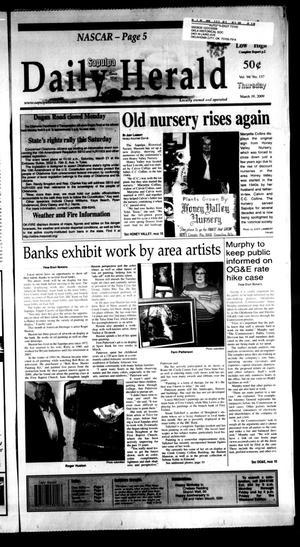 Primary view of Sapulpa Daily Herald (Sapulpa, Okla.), Vol. 94, No. 158, Ed. 1 Thursday, March 19, 2009