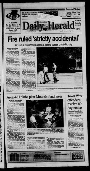Primary view of Sapulpa Daily Herald (Sapulpa, Okla.), Vol. 92, No. 299, Ed. 1 Thursday, October 25, 2007