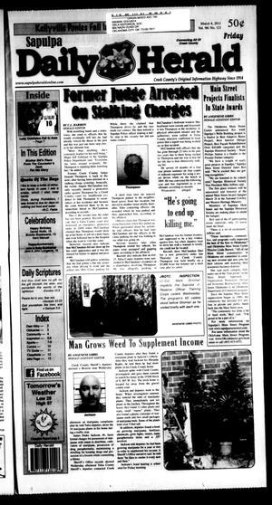 Primary view of Sapulpa Daily Herald (Sapulpa, Okla.), Vol. 96, No. 121, Ed. 1 Friday, March 4, 2011