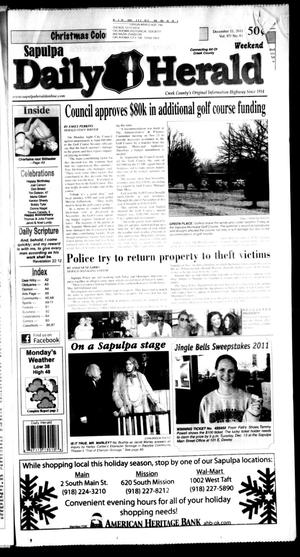Primary view of Sapulpa Daily Herald (Sapulpa, Okla.), Vol. 97, No. 63, Ed. 1 Sunday, December 11, 2011