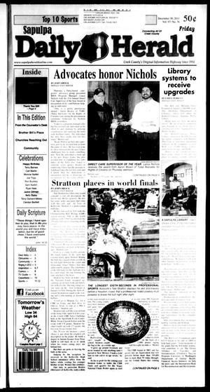 Primary view of Sapulpa Daily Herald (Sapulpa, Okla.), Vol. 97, No. 77, Ed. 1 Friday, December 30, 2011