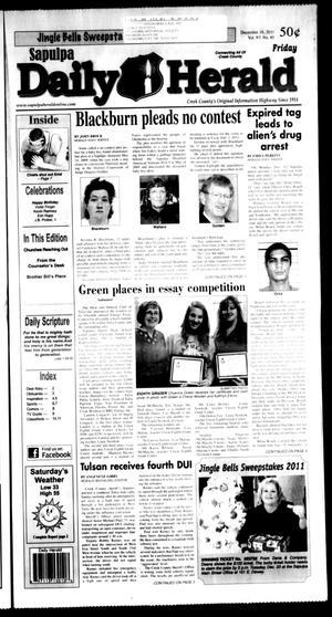 Primary view of Sapulpa Daily Herald (Sapulpa, Okla.), Vol. 97, No. 67, Ed. 1 Friday, December 16, 2011