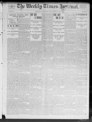 Primary view of object titled 'The Weekly Times-Journal. (Oklahoma City, Okla.), Vol. 13, No. 43, Ed. 1 Friday, February 14, 1902'.