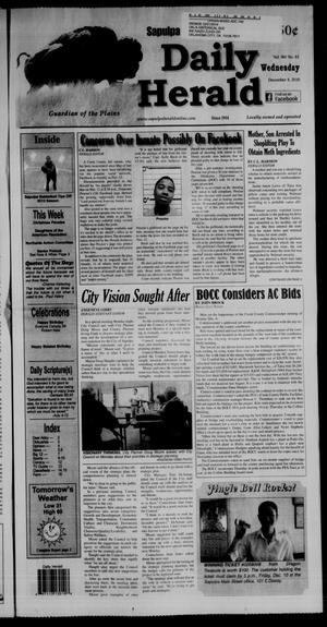 Primary view of Sapulpa Daily Herald (Sapulpa, Okla.), Vol. 96, No. 61, Ed. 1 Wednesday, December 8, 2010