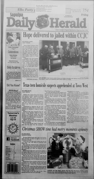 Primary view of Sapulpa Daily Herald (Sapulpa, Okla.), Vol. 100, No. 67, Ed. 1 Friday, December 19, 2014