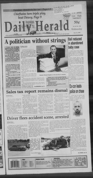 Primary view of Sapulpa Daily Herald (Sapulpa, Okla.), Vol. 94, No. 228, Ed. 1 Wednesday, June 24, 2009