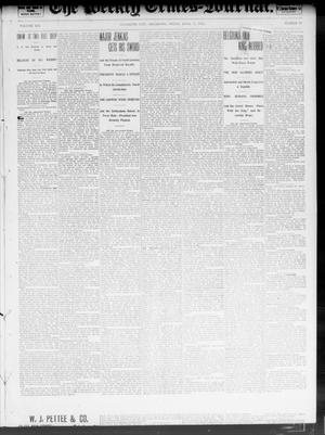 Primary view of object titled 'The Weekly Times-Journal. (Oklahoma City, Okla.), Vol. 13, No. 51, Ed. 1 Friday, April 11, 1902'.