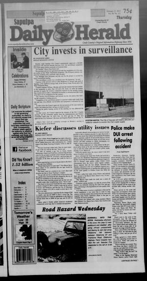 Primary view of Sapulpa Daily Herald (Sapulpa, Okla.), Vol. 98, No. 111, Ed. 1 Thursday, February 21, 2013